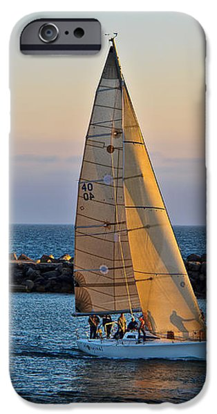Sailing iPhone Case by Randy Wehner Photography