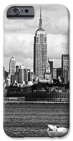 Sailing the New York Harbor iPhone Case by John Rizzuto