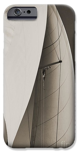 Genoa iPhone Cases - Sails iPhone Case by Dustin K Ryan