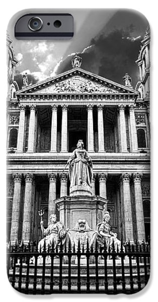 Saint Paul's Cathedral iPhone Case by Meirion Matthias