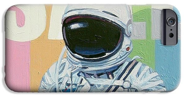 Space Paintings iPhone Cases - Sale iPhone Case by Scott Listfield