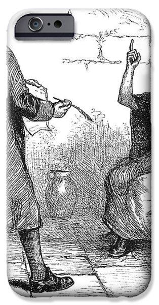 SALEM TRIALS: MARTHA COREY iPhone Case by Granger