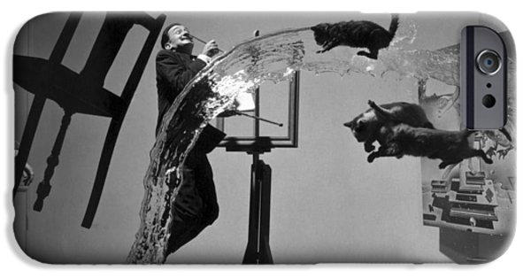 Painter Photographs iPhone Cases - Salvador Dali 1904-1989 iPhone Case by Granger