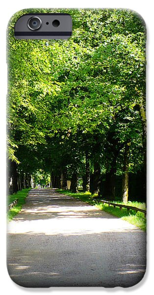 Salzburg Lane iPhone Case by Carol Groenen