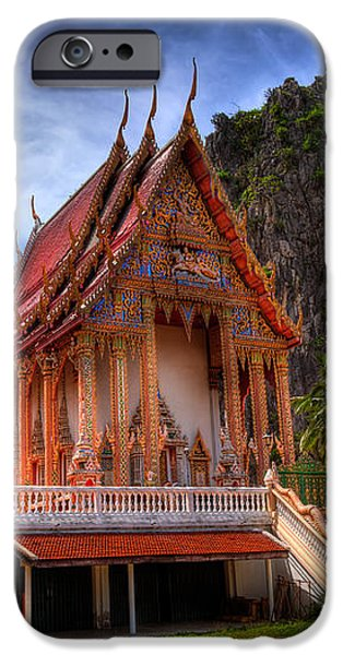 Sam Roi Yot Temple iPhone Case by Adrian Evans