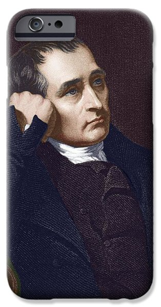 Samuel Crompton, British Inventor iPhone Case by Sheila Terry