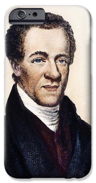 SAMUEL E. CORNISH iPhone Case by Granger