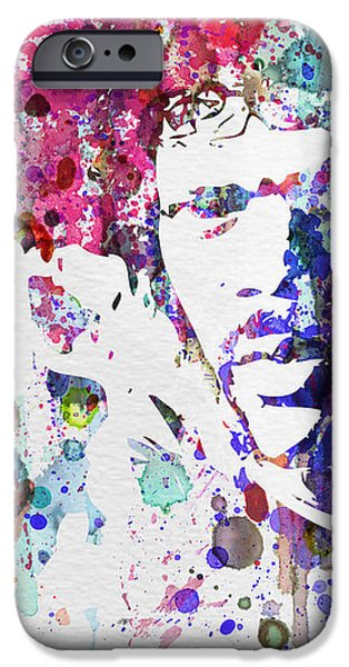 Samuel L Jackson Pulp Fiction iPhone Case by Naxart Studio