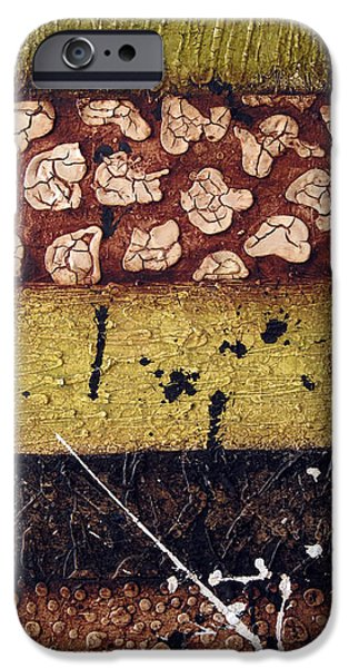 Abstracted Reliefs iPhone Cases - Samurai iPhone Case by Jill English