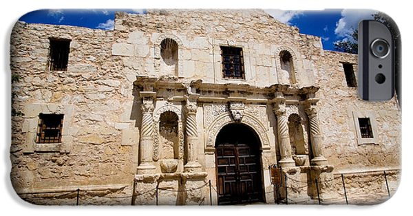 Historic Site iPhone Cases - San Antonio Alamo HDR iPhone Case by Samuel Kessler