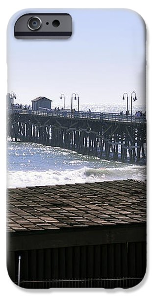 San Clemente Pier California iPhone Case by Clayton Bruster