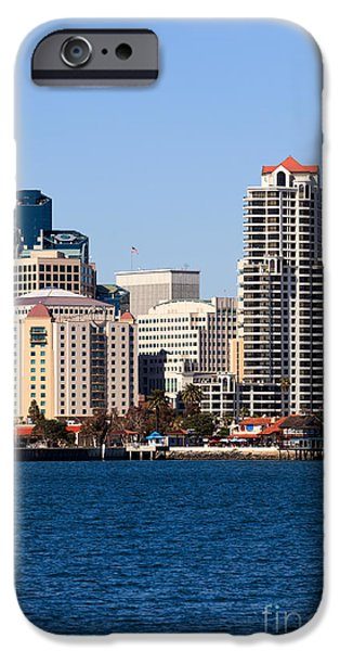 San Diego Buildings Photo iPhone Case by Paul Velgos