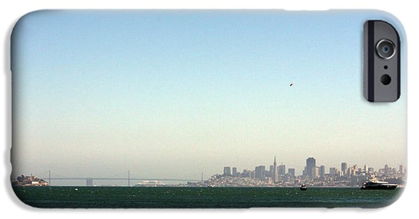 Alcatraz iPhone Cases - San Francisco Bay iPhone Case by Ty Helbach