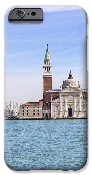 San Giorgio Maggiore iPhone Case by Joana Kruse