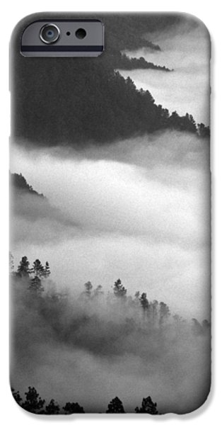 Mountains iPhone Cases - San Jose del Pacifico iPhone Case by Skip Hunt