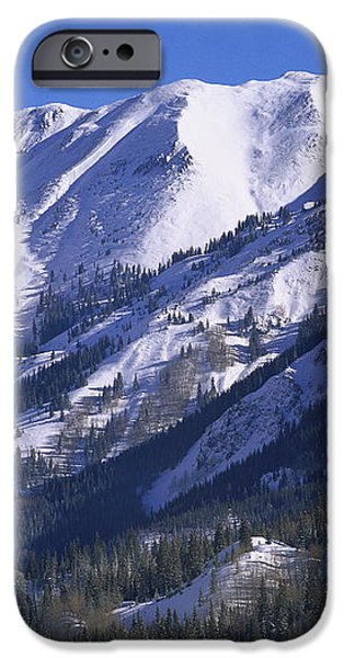 San Juan Mountains Covered In Snow iPhone Case by Tim Fitzharris