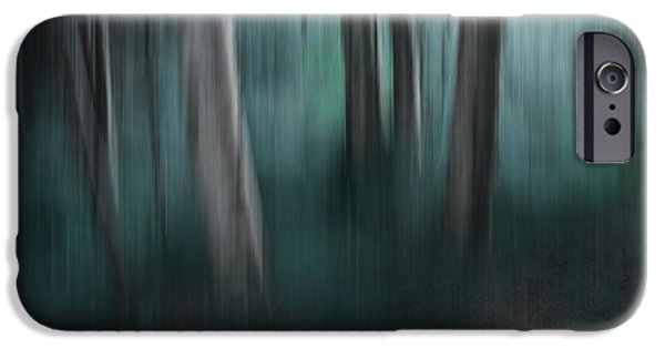 Dreamscape Digital Art iPhone Cases - Sanctify iPhone Case by Sharon Mau