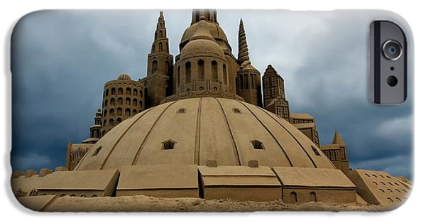 Sand Castles iPhone Cases - Sand Castle iPhone Case by Sophie Vigneault