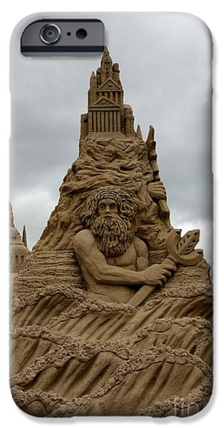 Sand Castles iPhone Cases - Sand Castles iPhone Case by Sophie Vigneault