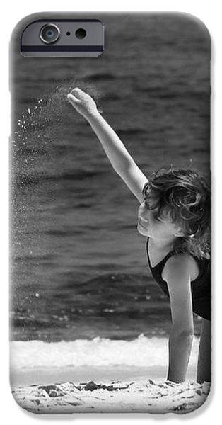 Sand Dancer iPhone Case by Michelle Wiarda
