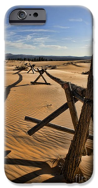 Sand iPhone Case by Heather Applegate