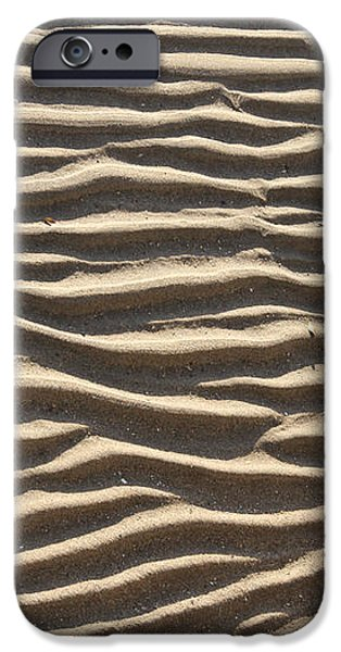 Sand Ripples iPhone Case by Photo Researchers, Inc.