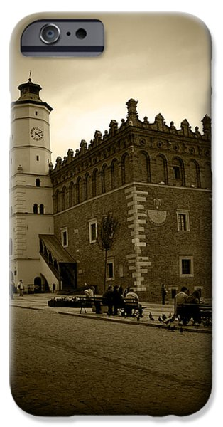 Sandomierz Sepia iPhone Case by Kamil Swiatek