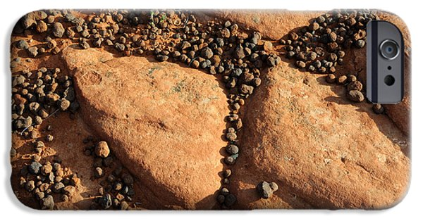 Slickrock iPhone Cases - Sandstone and Pebbles iPhone Case by Gary Whitton