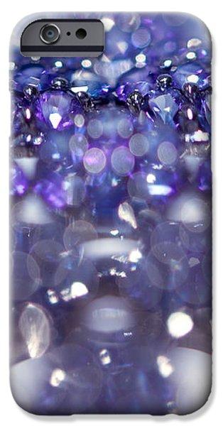 Sapphire Brooch. Spirit of Treasure iPhone Case by Jenny Rainbow