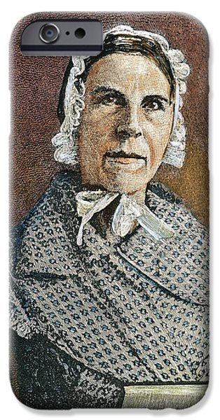 SARAH MOORE GRIMKE iPhone Case by Granger