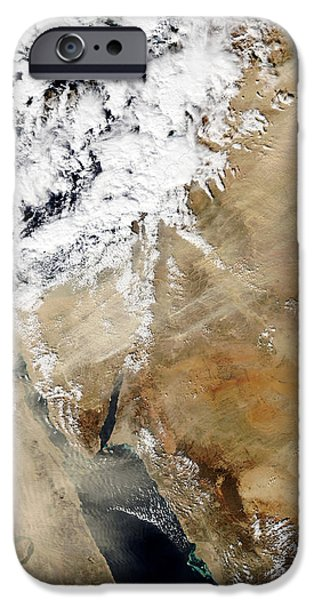 Satellite View Of The Eastern iPhone Case by Stocktrek Images