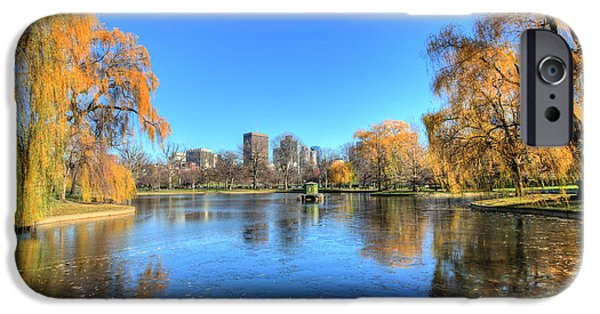 Willow Lake iPhone Cases - Saturday in the Park iPhone Case by JC Findley