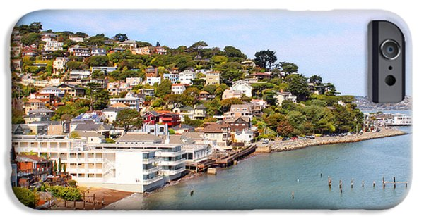 Sausalito iPhone Cases - Sausalito California iPhone Case by Jack Schultz