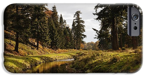 Design Pics - iPhone Cases - Scenic River, Northumberland, England iPhone Case by John Short