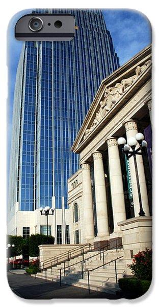 Buildings In Nashville iPhone Cases - Schermerhorn Symphony Center Nashville iPhone Case by Susanne Van Hulst