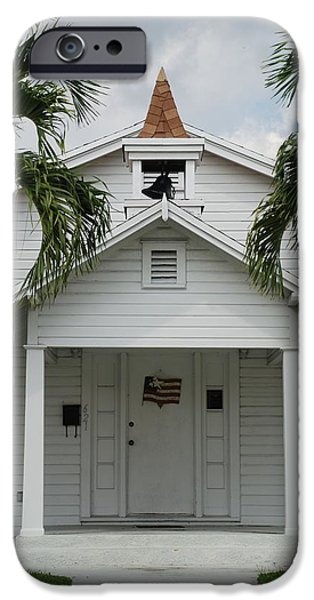 White House iPhone Cases - School House iPhone Case by Rob Hans