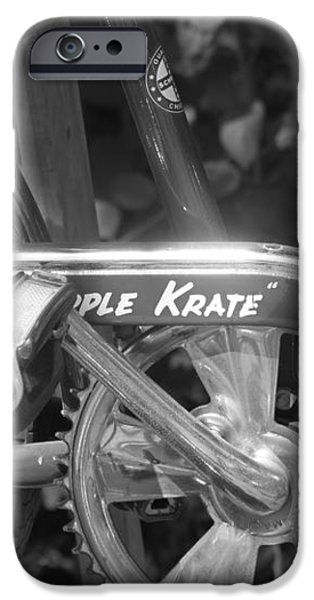 Schwinn Apple Krate iPhone Case by Lauri Novak