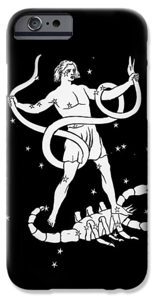 Scorpio And Ophiuchus Constellations iPhone Case by