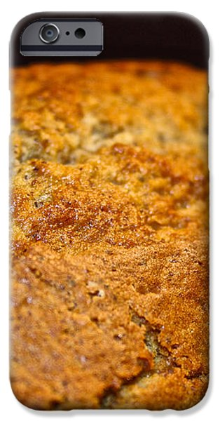Scratch Built Bread iPhone Case by Susan Herber