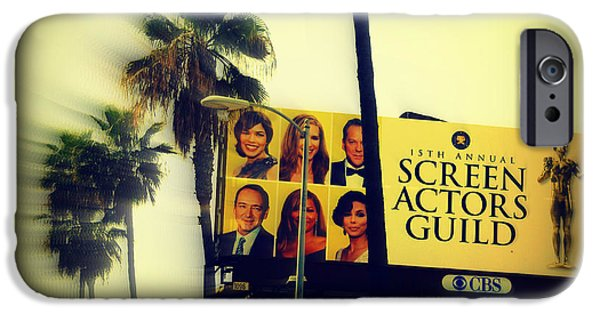 Guild iPhone Cases - Screen Actors Guild in LA iPhone Case by Susanne Van Hulst