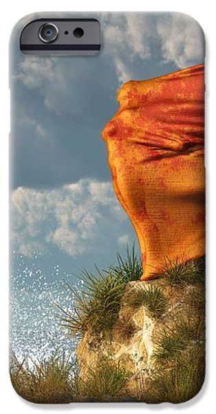 Sea Breeze Butterfly iPhone Case by Daniel Eskridge