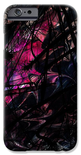 Serpent iPhone Cases - Sea Monster iPhone Case by Rachel Christine Nowicki