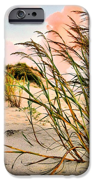 Sea Oats and Dunes iPhone Case by Kristin Elmquist