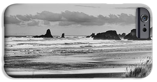 Lincoln iPhone Cases - Seaside by the Ocean iPhone Case by James Heckt
