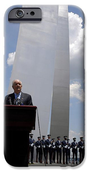 Secretary Of The Air Force Salutes iPhone Case by Stocktrek Images
