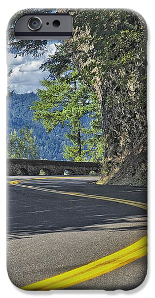 Section Of Columbia River Gorge iPhone Case by Tatiana Boyle