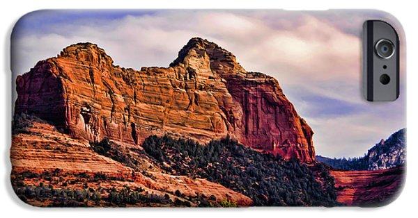 Sedona iPhone Cases - Sedona Arizona VII iPhone Case by Jon Berghoff