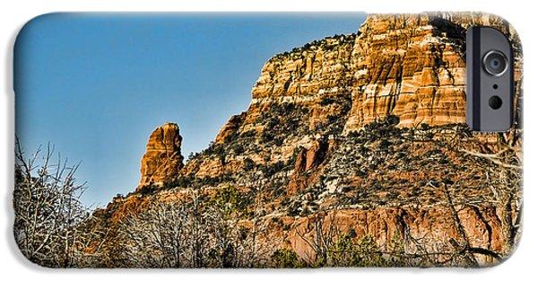 Sedona iPhone Cases - Sedona Arizona XI iPhone Case by Jon Berghoff