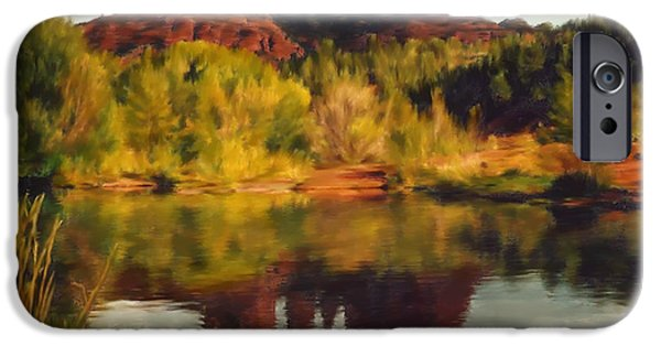 Recently Sold -  - Cathedral Rock iPhone Cases - Sedona iPhone Case by Kurt Van Wagner