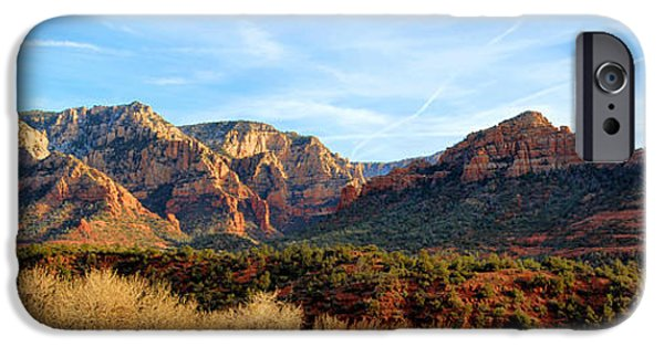 Cathedral Rock iPhone Cases - Sedona Rocks iPhone Case by Lynn Bauer